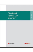 Cover of Child and Family Law Quarterly