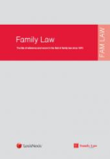 Cover of Family Law (LexisNexis)