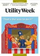 Cover of Utility Week: Subscription