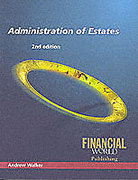 Cover of Administration of Estates