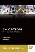 Cover of Taxation: Policy and Practice 2018-19