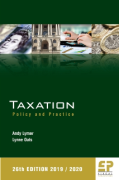 Cover of Taxation: Policy and Practice 2019/20