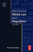Cover of Electronic Media Law and Regulation