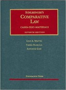Cover of Schlesinger's Comparative Law: Cases, Text, Materials