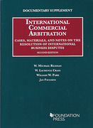 Cover of Documentary Supplement: International Commercial Arbitrationon