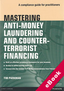 Cover of Mastering Anti-Money Laundering Regulation: A Compliance Guide for Practitioners (eBook)