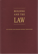Cover of Building and the Law