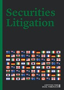 Cover of Getting the Deal Through: Securities Litigation 2015
