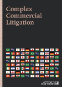 Cover of Getting the Deal Through: Complex Commercial Litigation 2019
