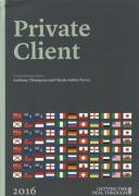 Cover of Getting the Deal Through: Private Client 2019