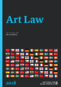 Cover of Getting the Deal Through: Art Law 2018