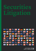 Cover of Getting the Deal Through: Securities Litigation 2019