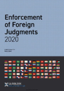 Cover of Getting the Deal Through: Enforcement of Foreign Judgements 2020