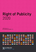 Cover of Getting the Deal Through: Right of Publicity 2020