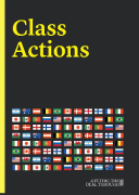 Cover of Getting the Deal Through: Class Actions 2020