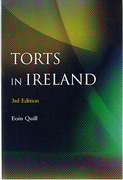 Cover of Torts in Ireland