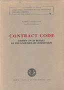 Cover of Contract Code Drawn Up on Behalf of the English Law Commission