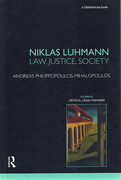 Cover of Niklas Luhmann: Law, Justice, Society