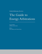 Cover of The Guide to Energy Arbitrations