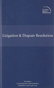 Cover of Global Legal Insights: Litigation & Dispute Resolution