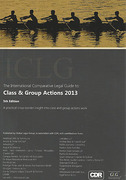 Cover of The Intermnational Comparative Legal Guide to Class & Group Actions 2013