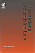 Cover of International Advertising Law: A Practical Global Guide