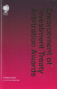 Cover of Enforcement of Investment Treaty Arbitration Awards