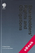 Cover of Shareholders' Rights and Obligations: A Global Guide (eBook)