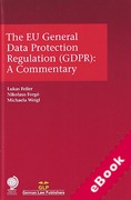 Cover of The EU General Data Protection Regulation (GDPR): A Commentary (eBook)