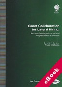 Cover of Smart Collaboration for Lateral Hiring: Successful Strategies to Recruit and Integrate Laterals in Law Firms (eBook)