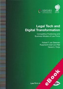 Cover of Legal Tech and Digital Transformation: Competitive Positioning and Business Models of Law Firms (eBook)