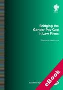 Cover of Bridging the Gender Pay Gap in Law Firms (eBook)