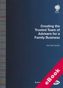 Cover of Creating the Trusted Team of Advisers for a Family Business (eBook)