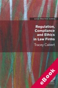 Cover of Regulation, Compliance and Ethics in Law Firms (eBook)