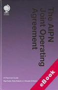 Cover of The AIPN Joint Operating Agreement: A Practical Guide (eBook)