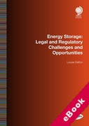 Cover of Energy Storage: Legal and Regulatory Challenges and Opportunities (eBook)
