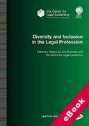 Cover of Diversity and Inclusion in the Legal Profession (eBook)