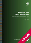 Cover of Essential Soft Skills for Lawyers: What They Are and How to Develop Them (eBook)