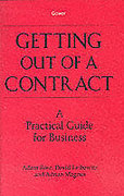 Cover of Getting Out of a Contract: A Practical Guide for Business
