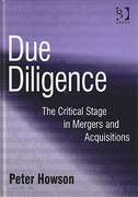 Cover of Due Diligence: The Critical Stage in Acquisitions and Mergers