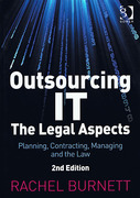 Cover of Outsourcing IT: The Legal Aspects: Planning, Contracting, Managing and the Law (eBook)