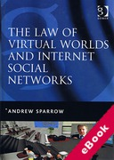 Cover of Law of Virtual Worlds and Internet Social Networks (eBook)