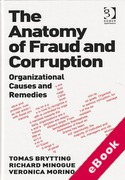 Cover of The Anatomy of Fraud and Corruption: Organizational Causes and Remedies (eBook)