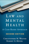 Cover of Law and Mental Health : A Case-Based Approach