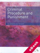 Cover of Criminal Procedure and Punishment (eBook)