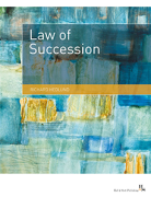Cover of Law of Succession