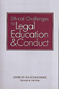 Cover of Ethical Challenges to Legal Education and Conduct
