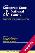 Cover of The European Court and National Courts: Doctrine and Jurisprudence (eBook)