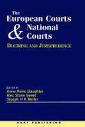 Cover of The European Court and National Courts: Doctrine and Jurisprudence
