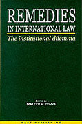 Cover of Remedies in International Law: The Institutional Dilemma